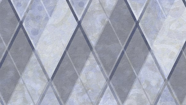 Rhombus, Lines, Pattern, Abstract, Geometric, Grey