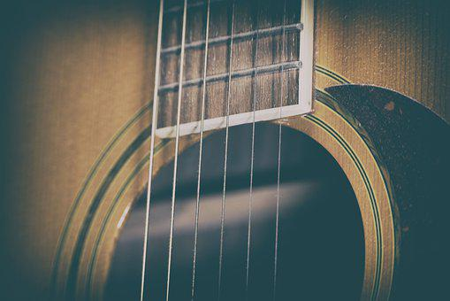 Music, Guitar, Acoustic, Melody, Sound, Play, Strings
