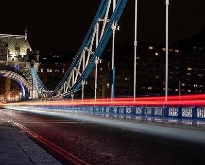 London Bridge, Tower Bridge, London, Thames, Uk, Famous