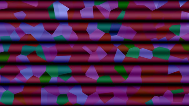 Abstract, Geometric, Lines, Pattern, Colorful