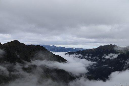Mountains, Fog, Mountain Ranges, Mountainous