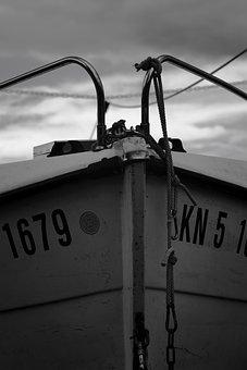 Ship, Boat, Sailing Boat, Sea, Masts, Sunset