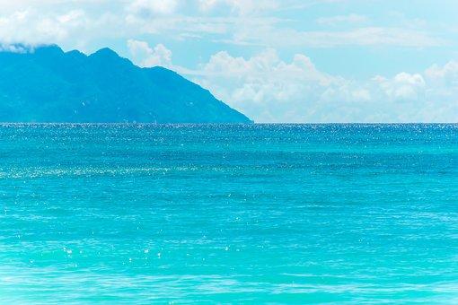 Blue, Ocean, Sea, Seascape, Blue Sea, Blue Ocean, Water