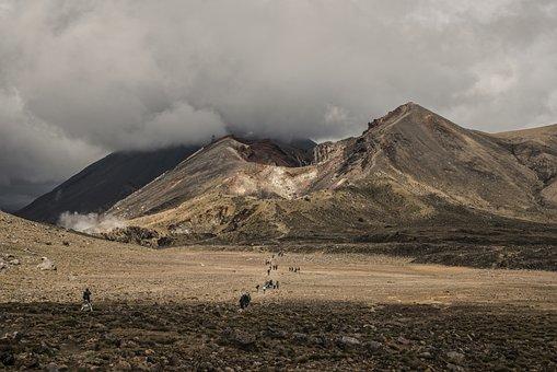 Tongariro, New Zealand, Volcanoes, Trekking