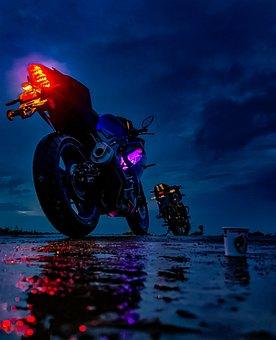 Bike, Motorbike, Rider, Wheels, Vehicle, Transportation