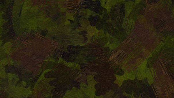 Lines, Stripes, Camouflage, Camo, Military, Army, Green