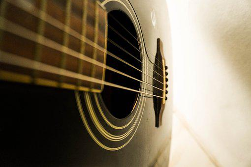 Guitar, Music, Instrument, Acoustic, Strings