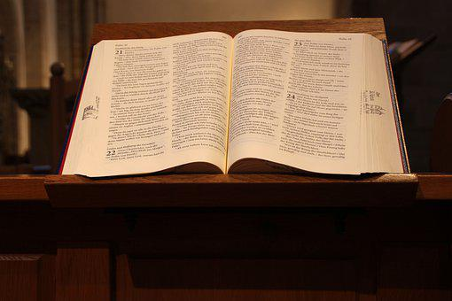 Bible, Book, Open, Open Bible, Open Book, Pages, Psalms