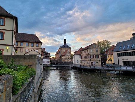 Town Hall, Buildings, River, Tourism, Swiss Francs