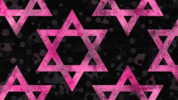 Star Of David, Pattern, Bat Mitzvah, Bat, Hanukkah