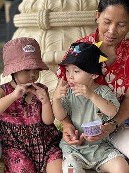 Friendship, Toddler, Hat, Children