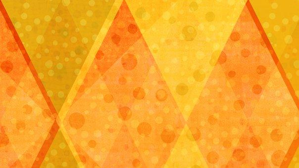 Rhombus, Dots, Mosaic, Pattern, Abstract, Geometric
