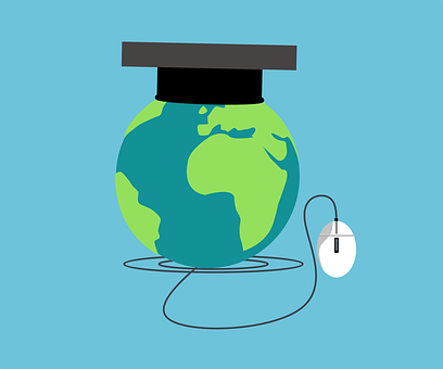 Education, Online, Globe, Earth, Global, Learning
