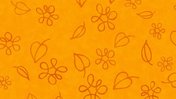 Leaves, Flowers, Doodle, Pattern, Autumn, Fall, Bloom