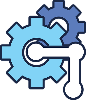 Gears, Setting, Symbol, Cog, Cogwheel, Machine, Tools