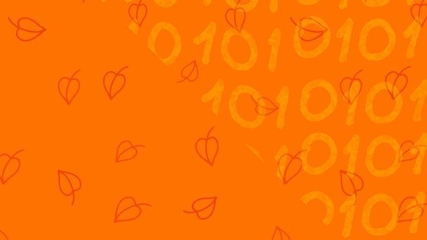 Leaves, Fall, Pattern, Orange, Doodle, Autumn, Nature