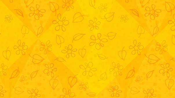 Leaves, Flowers, Doodle, Pattern, Abstract, Autumn