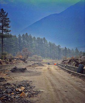 Road, Forest, Mountains, Rural Road, Rural, Countryside