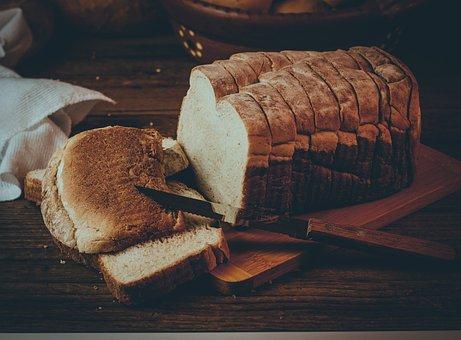 Bread, Loaf, Slices, Sliced Bread, Bread Loaf