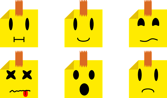 Emojis, Little, Leaf, Miniature, Leaves, Face, Small
