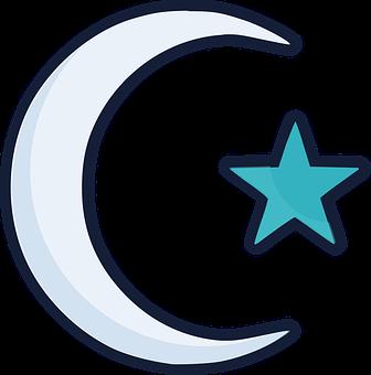 Islam, Moon, Star, Crescent, Ramadan, Islamic, Muslim