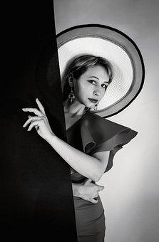 Woman, Model, Portrait, Fashion, Style, Stylish Woman