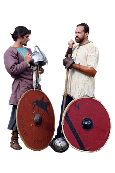 Warriors, Vikings, Shields, Medieval, Knights, Ancient