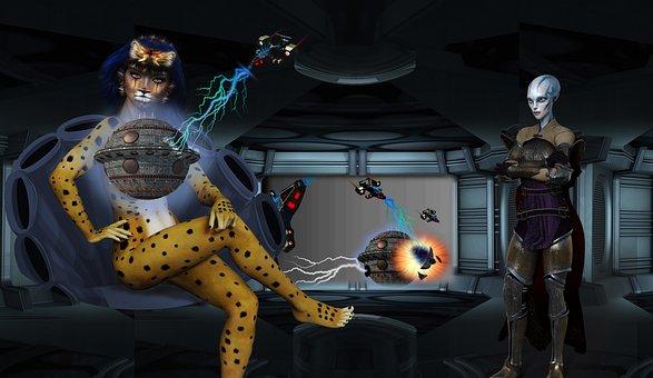 Aliens, Control Room, Holograph, War Room