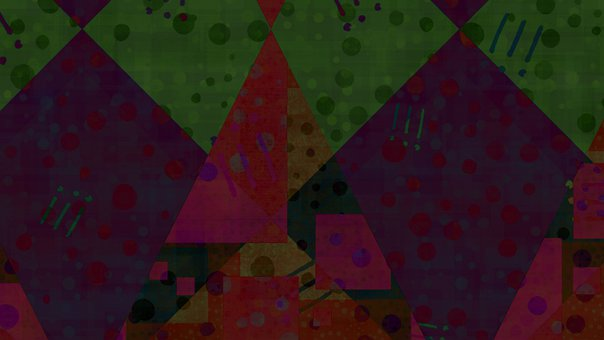 Abstract, Dots, Pattern, Colorful, Geometric, Art