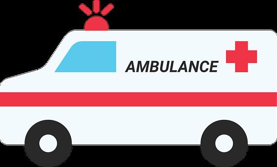 Ambulance, Health, Medicine, Hospital, Paramedic, Icon