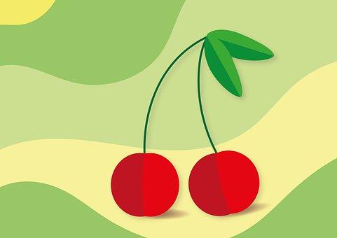 Cherry, Fruit, Healthy, Juicy, Ripe, Food, Sweet