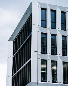 Building, Apartment, Windows, Modern, Design