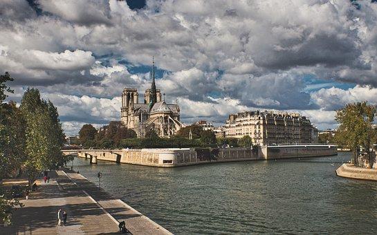 Church, Chapel, Building, Landmark, Notre Dame, Paris