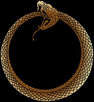 Ouroboros, Ancient, Symbol, Uroboros, Serpent, Snake