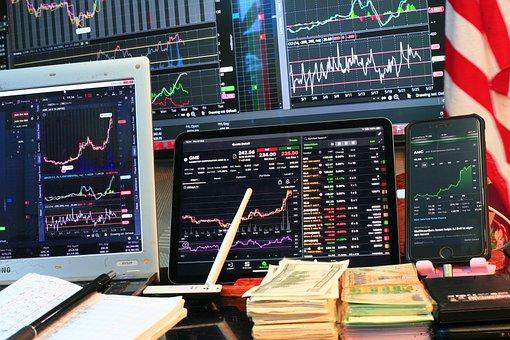 Stock Market, Charts, Trading, Gamestop, Amc, Gme, Nyse