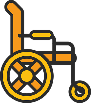 Wheelchair, Disability, Icon, Disabled, Handicapped