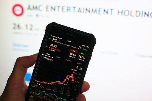 Amc, Stock, Chart, Meme, Bubble, Crash, Market, Trading