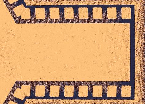 Vintage, Old, Cinema, Movie, Photo, Texture, Abstract