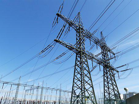 Power Poles, Electricity, Overhead Power Lines