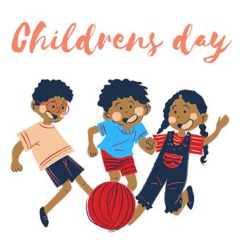 Children, Play, Children's Day, Ball, Playing, Kids
