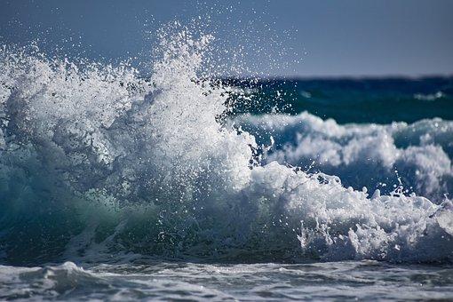 Splash, Spray, Wave, Surf, Sea, Water, Nature, Wind