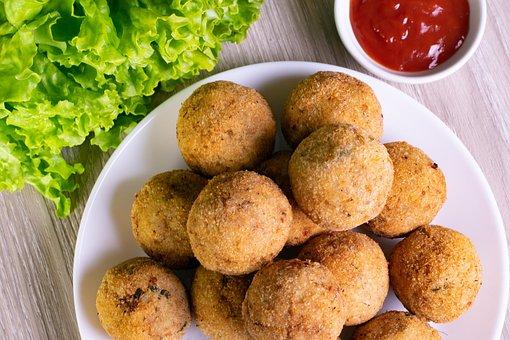 Vegetable Cutlet, Food, Sri Lankan, Dish, Cuisine