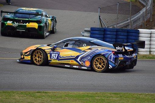 Car, Racing Car, Race Track, Vehicle, Auto, Automobile