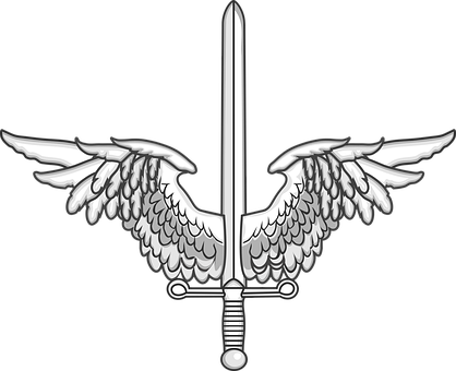 Winged, Sword, Warrior, Wings, Fantasy, Knight, Weapon