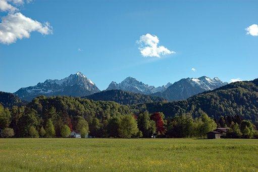Germany, Bavaria, Allgäu, Schwangau, Hohenschwangau