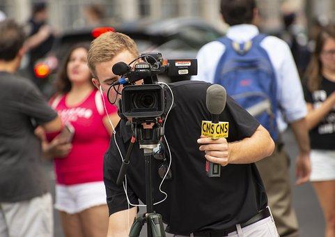 Camera, Cameraman, Video, Videographer, Equipment