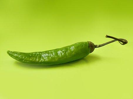 Green Chilli, Chilli, Chilli Pepper, Chili, Spicy