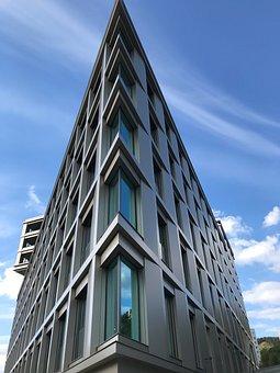 Modern, Building, Architecture, Window, Facade