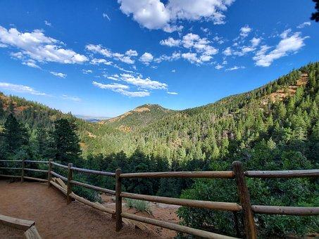 Mountain, Mountain Range, Mountains, Colorado, Forest