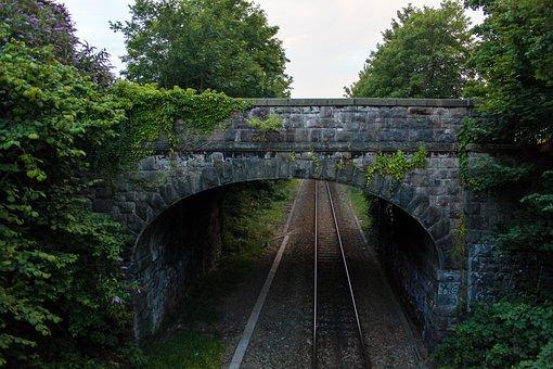 Train, Bridge, Railway, Travel, Transportation